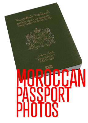 Moroccan Passport Photos Monterey